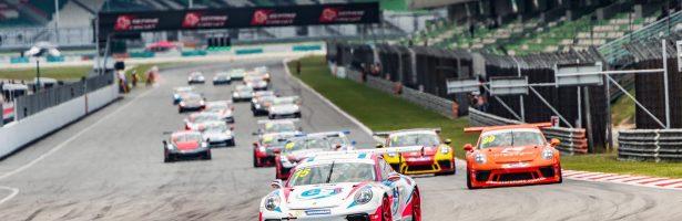 """ท็อป-ธนาตย์"""" ขึ้นโพลเดี้ยมที่เซปัง   Porsche Carrera Cup Asia 2018"""