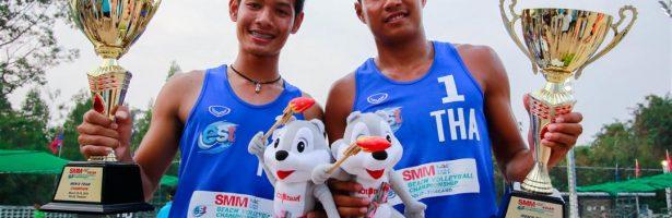 """""""นักตบไทย"""" กวาดทุกแชมป์ ศึกลูกยางชายหาด U-21 ชิงแชมป์เอเชีย"""