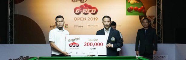 """สมราคาเต็งแชมป์ กิ๊ก พิษณุโลก คว้าแชมป์ """"SangSom 6-Red Open 2019 Final Stage คว้าสิทธิ์ชิงแชมป์โลกปีหน้า"""